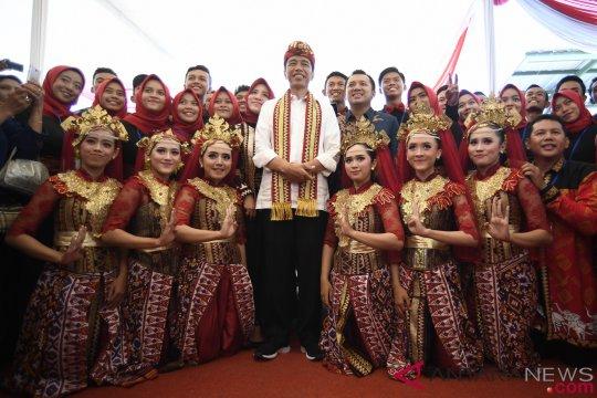 Presiden bagikan 3.000 sertifikat di Kabupaten Bogor