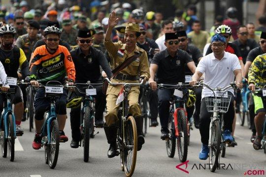 Presiden kembali ke Jakarta