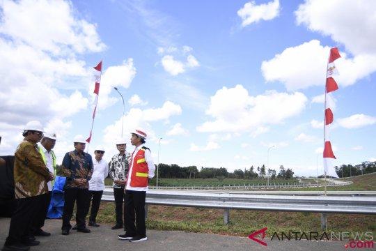 Presiden Tinjau Tol Bakauheni-Palembang