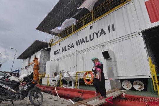 Rumah Sakit Apung layani korban bencana Palu