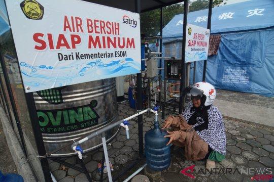 """Program """"Air Bersih"""" ESDM jangkau 22 ribu pengungsi"""