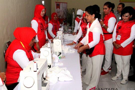 Ibu Iriana kunjungi puskesmas di Lampung