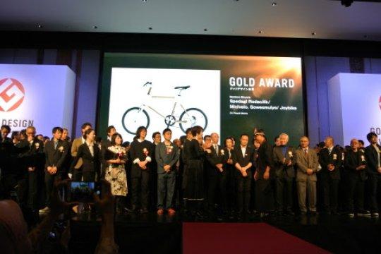 Sepeda bambu asal Indonesia gondol penghargaan Gold Award