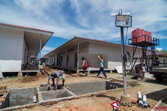NU Peduli bangun huntara di daerah terdampak tsunami Selat Sunda