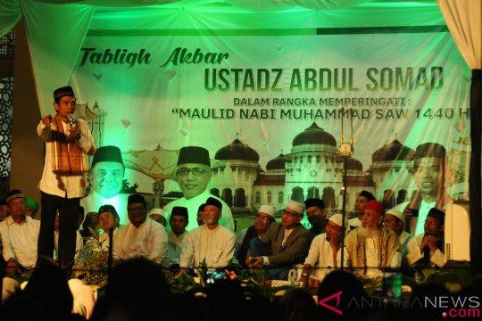 Ustadz Abdul Somad nyatakan banyak belajar dari ulama Minangkabau