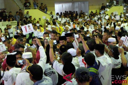 Ribuan massa Banten hadiri deklarasi dukungan kepada Jokowi-Ma'ruf