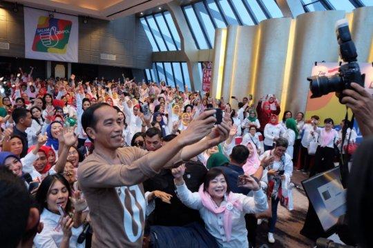 Jokowi minta caleg perempuan ceritakan program pemerintah