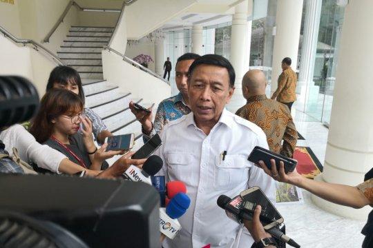 Wiranto sebut masyarakat tak perlu khawatir soal negara punah