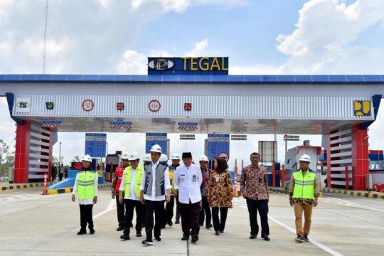 Presiden Jokowi resmikan Jalan Tol Pejagan-Pemalang dan Pemalang-Batang