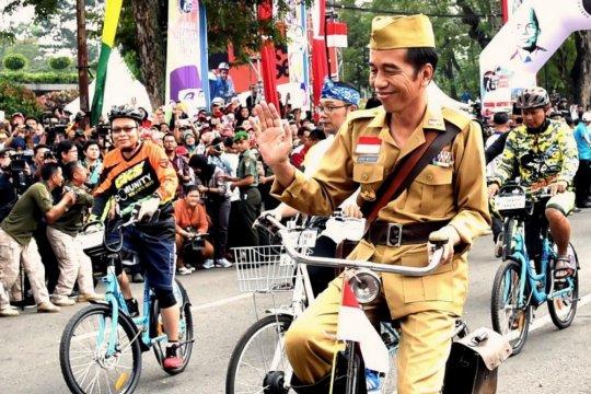 Jokowi sebut menang di Jawa Barat
