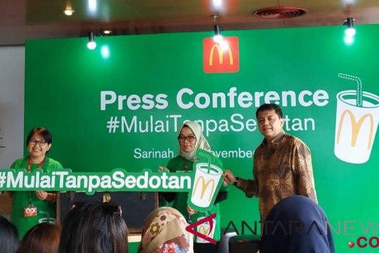 Sehari 93 juta sedotan plastik digunakan di Indonesia