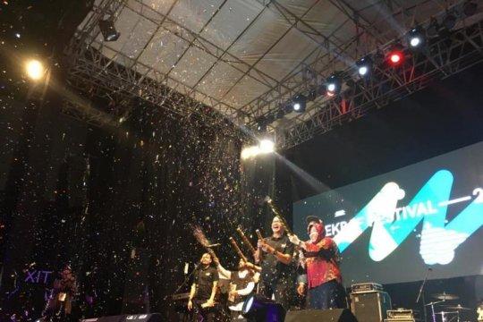 Risma buka Bekraf Festival 2018 di Surabaya
