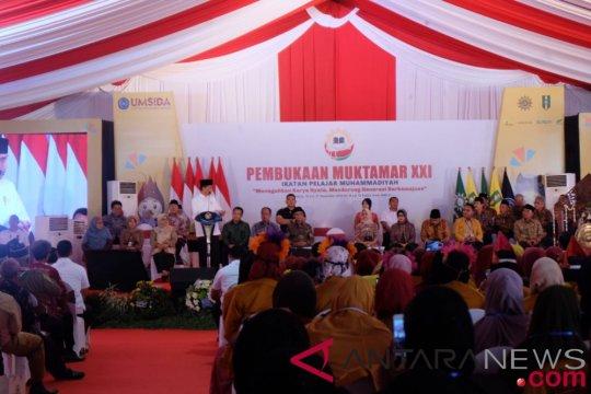 Presiden Jokowi puji lulusan Muhammadiyah