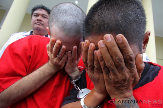 Puluhan pengguna narkoba di Jambi digulung polisi