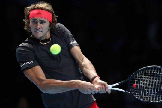 Zverev taklukkan Federer di semifinal ATP Finals