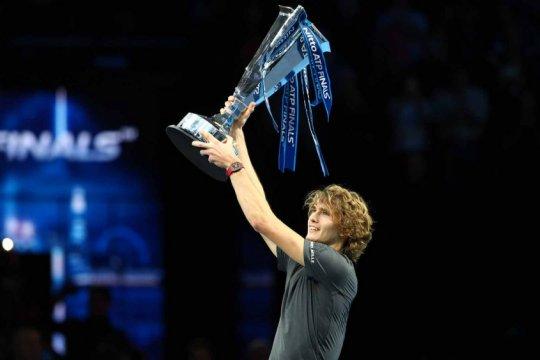 Zverev taklukkan Djokovic untuk menjuarai ATP Finals