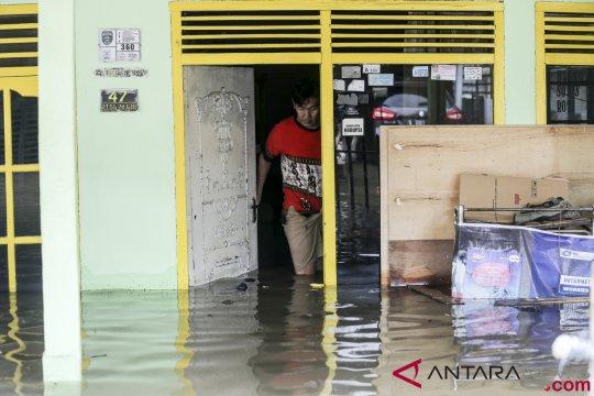 Genangan air hujan masih menjadi masalah