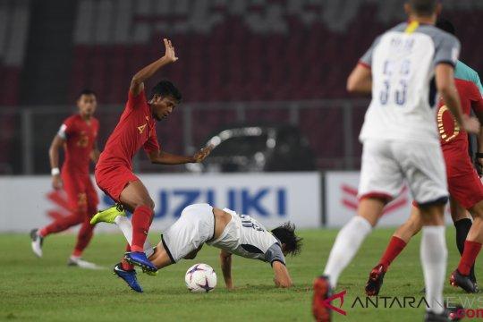 Laga Indonesia versus Filipina berakhir tanpa gol