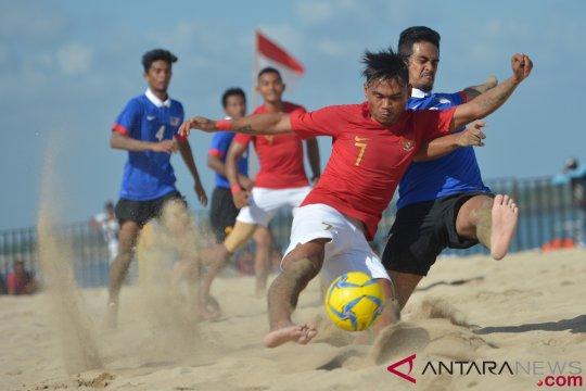 Indonesia Imbangi Malaysia Sepakbola Pantai AFF