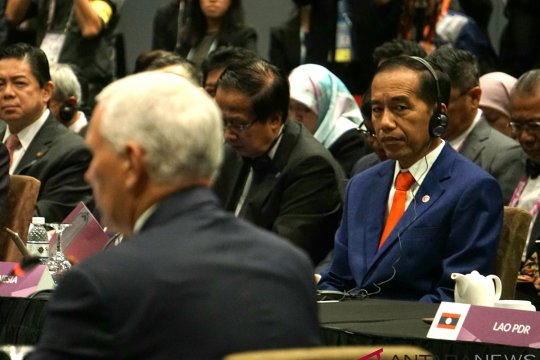 Presiden Jokowi Hadiri KTT ASEAN-AS