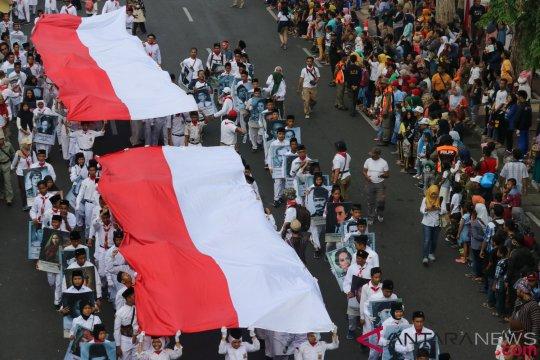 Ribuan peserta ramaikan  Parade Surabaya Juang  2018