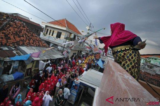 Pawai Maulid Nabi di Surabaya