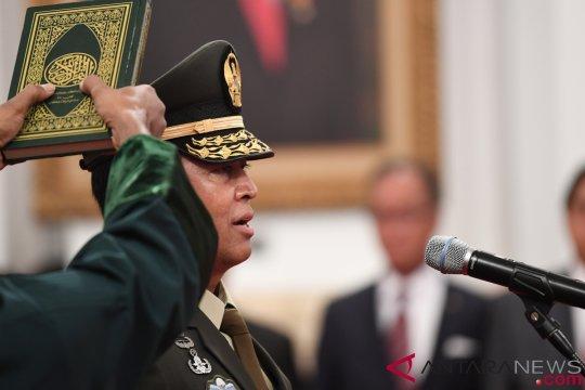 Panglima TNI minta Jenderal Andika segera konsolidasi internal
