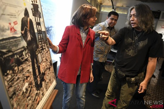 Peluncuran Buku Lombok Palu Donggala Revival
