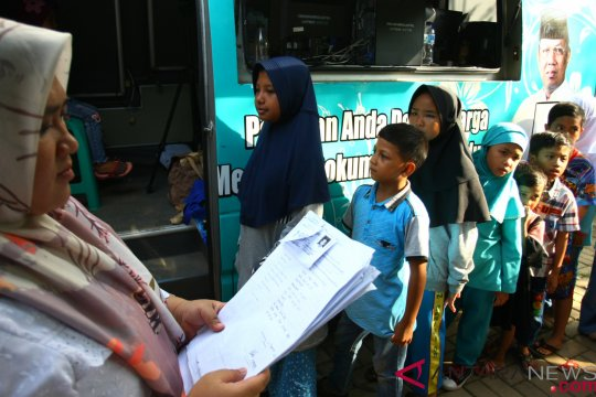 Pembuatan Kartu Identitas Anak