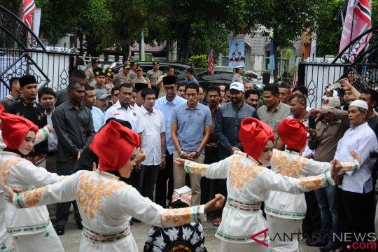 Peresmian Sekber Pemenangan Prabowo-Sandi