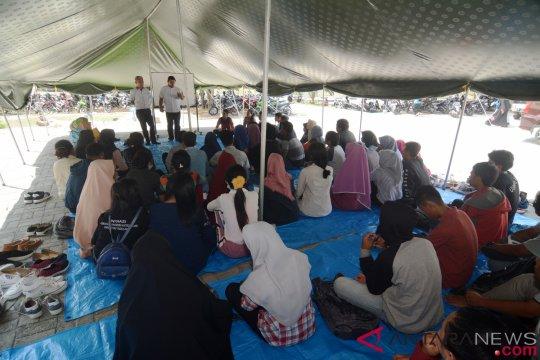 Mendikbud sebut pendidikan di Lombok-Palu berjalan 100 persen