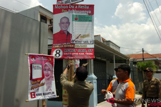 Pertarungan  antar-caleg memanas jelang Pemilu 2019