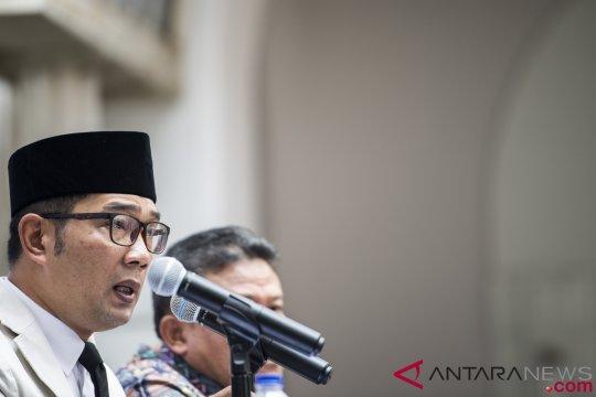 Ridwan Kamil sedih bupati Cianjur terjaring operasi tangkap tangan