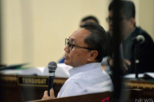 Kesaksian Zulkifli Hasan Dalam Sidang Tipikor Lampung