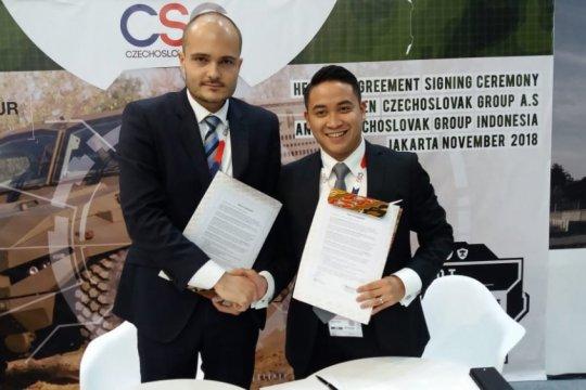 Perusahaan Ceko investasi 100 juta dolar bangun industri pertahanan