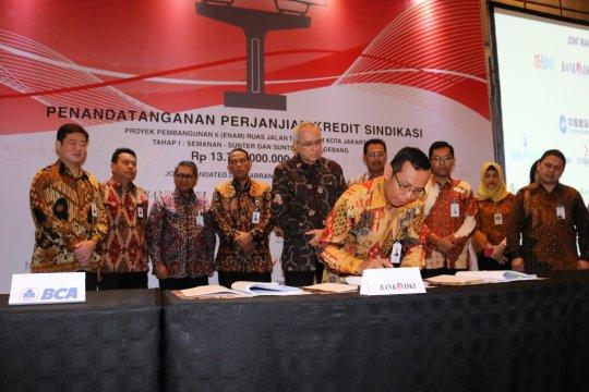 Bank DKI pimpin sindikasi BPD biayai tol dalam kota Jakarta