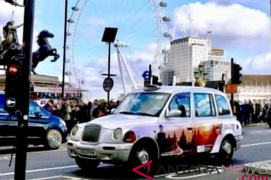 "Taksi  ""Wonderful Indonesia"" rajai jalanan London"