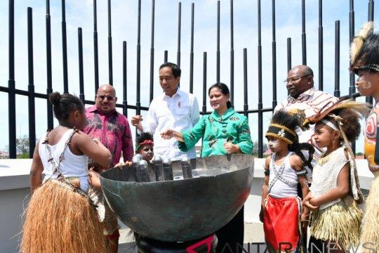 Presiden sebut Monumen Kapsul Waktu Merauke seperti markas Avengers