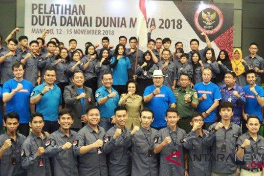 60 duta damai dunia maya lahir di Sulut