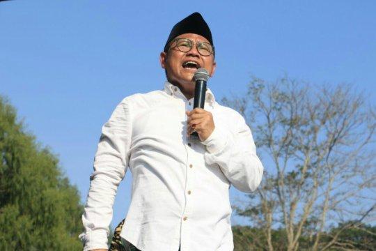 Kelakar Cak Imin bikin Jokowi susah payah menahan tawa