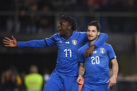 Italia raih kemenangan tipis atas AS