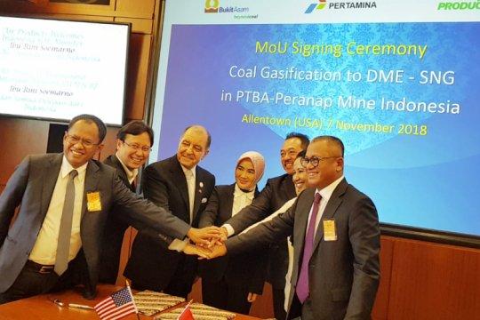 Pertamina-Bukit Asam kembangkan gasifikasi batubara dengan perusahaan AS
