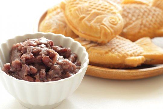 Azuki, ciri khas makanan penutup Negeri Sakura