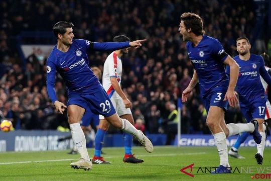 Morata Dua Gol, The Blues Menang 3-1