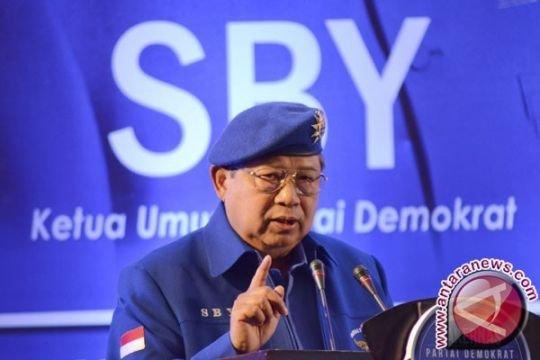 SBY akan sampaikan pidato politik perdana dalam delapan bulan terakhir
