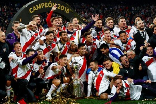 River Plate Kampiun Copa Libertadores 2018