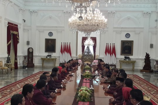 Presiden terima Dewan PPNI bahas keperawatan