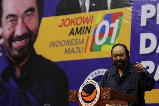 Menangkan Jokowi di Sumbar, Paloh sebut perlu strategi khusus