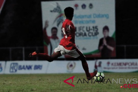 Timnas Pelajar U-15 pastikan satu tiket final Bali IFC