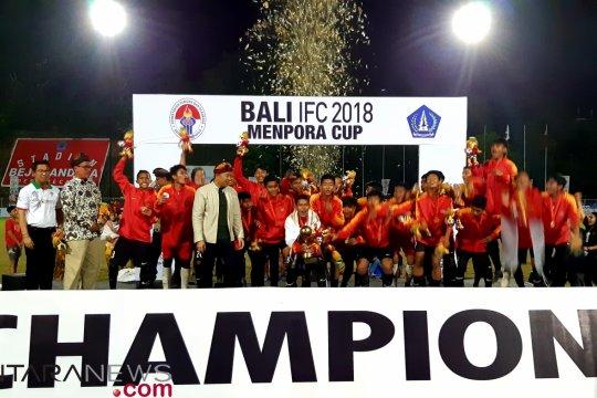 Penalti Arya Wijaya bawa Bara FC juarai Bali IFC